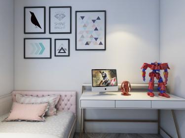121平3室现代儿童房