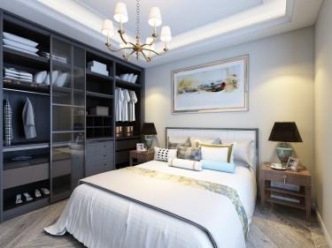 121平3室现代卧室