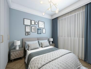 120平三口之家,打造不一样的现代风-融创美盛象湖壹号小区120平米3室现代装修案例