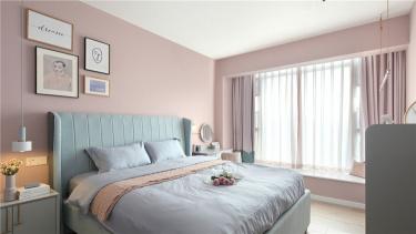 120平现代简约随性有序-国宾苑小区120平米3室现代装修案例