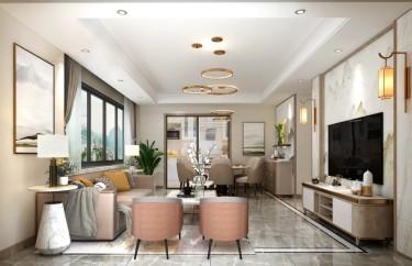144平4室欧式客厅