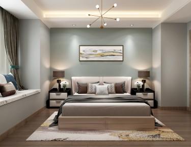 144平4室欧式卧室