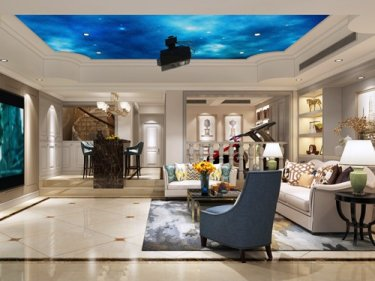奢华享受 466㎡欧式别墅
