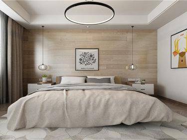 初秋的小清新-中央广场小区118平米3室北欧装修案例