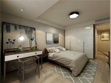 简洁而实用,简约而不简单的务实主义-苏宁尊悦府邸小区147平米3室现代装修案例