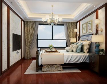 140㎡美式 | 在追求美好精致的路上,步履不停-皖江一号院小区140平米3室美式装修案例