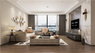 暖色调家居设计 | 无隔断,空间更透亮!