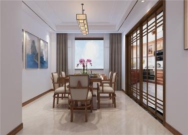 品味雅致新中式之家--众成嘉园190房型-众成嘉园小区190平米4室新中式装修案例