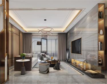 137㎡简洁大方三室,丰富的收纳让家更舒适