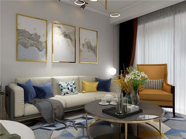 135平的简约风三居室,舒适又大方的房子