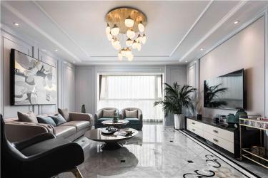 250㎡美式风四居室,享受生活中的美好时光!-银河湾明苑小区250平米4室美式装修案例