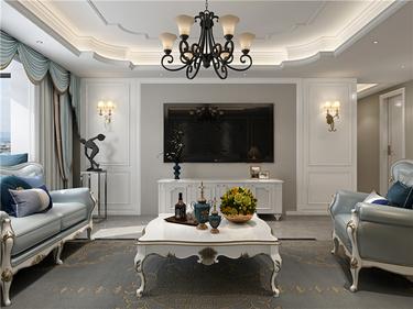 在欧式中寻找新生代的美,于忙碌中追求高品质的家