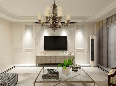 客厅简单的纯色,自然舒适也耐看!