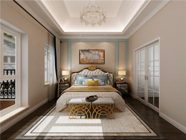 200m²欧式别墅、带你体验不一样的感觉-银丰唐郡小区200平米4室欧式装修案例