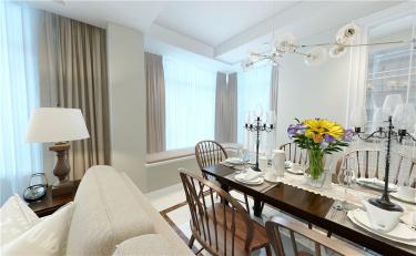 113㎡馥郁温暖,生活舒适-金融中心小区113平米3室美式装修案例