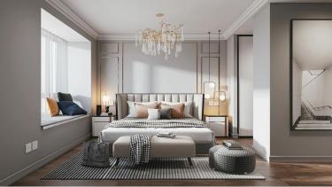 119平3室现代卧室