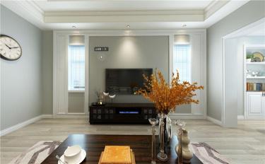 把温柔装进家里才是对家人最好的尊重-铜山半岛小区345平米别墅美式装修案例