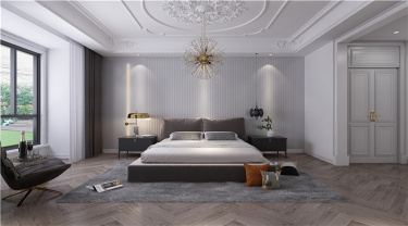 289㎡浪漫5居室,打造高贵的法式轻奢-高新首府小区289平米5室法式装修案例