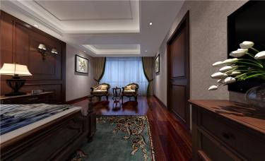 重回经典,繁华深处遇见新生活-林语香溪小区470平米别墅美式装修案例