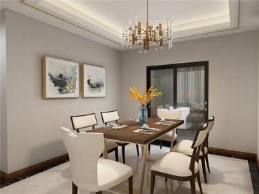 休闲浪漫的小时光——美式轻奢软装-龙湖天赋小区140平米3室美式装修案例