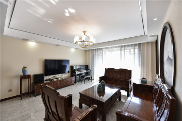 140㎡高级新中式,有温度的东方美!-星宝花园小区140平米4室新中式装修案例