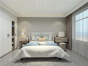 舒适功能体验感在线,每一天都想宅家里。-公园道一号小区170平米5室现代装修案例