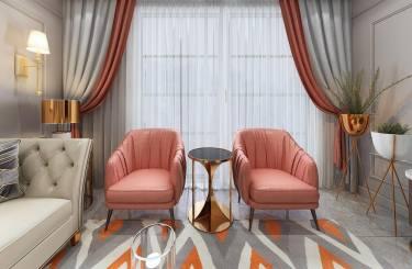 113平3室简欧客厅