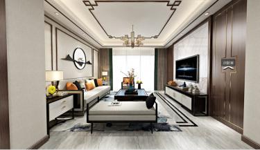 自在的享受自然,享受文化的新中式住宅