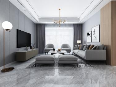 简约时尚小资黑白灰设计理想之家