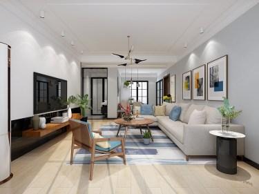 三室两厅一厨两卫现代风格