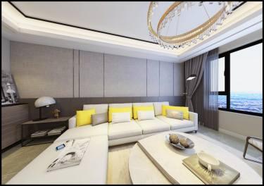 99平2室现代客厅