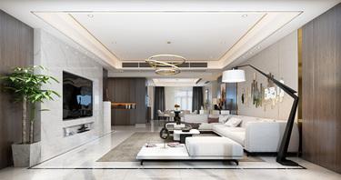 现代轻奢 不浮夸的高级感-碧桂园小区257平米5室现代装修案例