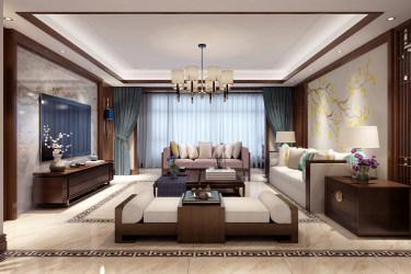 新中式大宅的典雅高贵