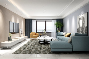 现代舒适的家