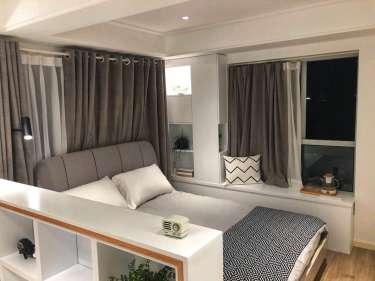 北欧公寓,高颜值的小格调-瑞虹新城小区51平米1室北欧装修案例