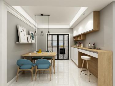 亲子时光-水漾花城小区140平米4室现代装修案例