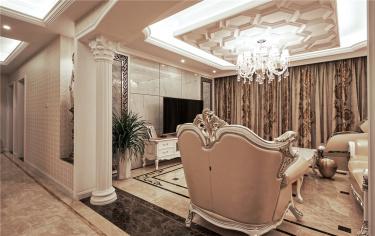 142平4室欧式客厅