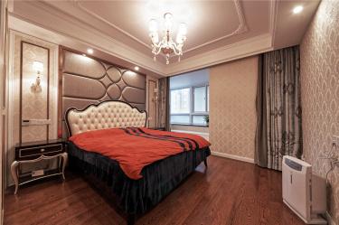 欧式风情演绎时尚的美感-中泱天城小区142平米4室欧式装修案例