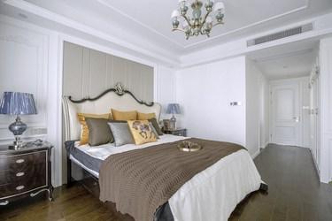 168㎡高雅而和谐的法式新古典风-蔚蓝海岸小区168平米4室法式装修案例