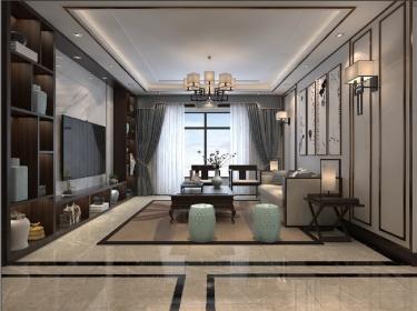 除却浮华,洗净尘埃,新中式带给你清澈的家