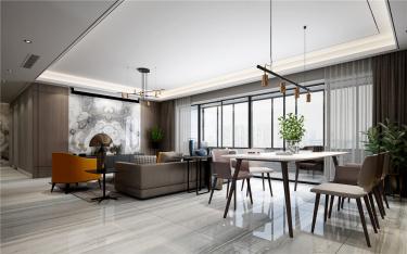 160㎡北欧风 | 给你一个轻松干净的家!-保利悦都小区160平米3室北欧装修案例