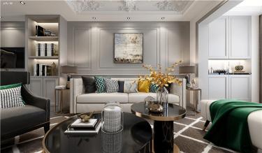 舒适轻享家-东岸花园小区220平米3室法式装修案例