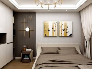 精致与轻奢-威廉公馆小区128平米2室现代装修案例