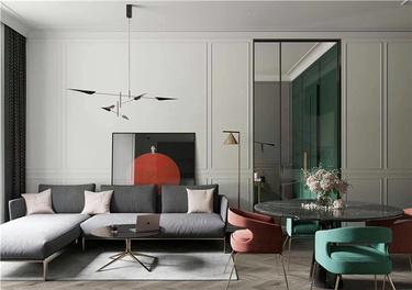 绿意盎然-春申新村小区70平米2室现代装修案例