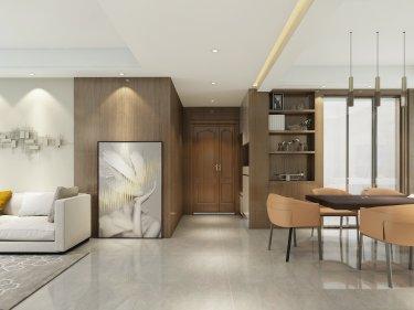 现代风格演绎140平米3室的功能与颜值