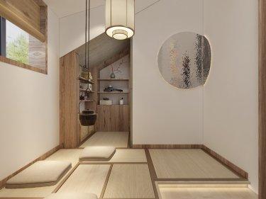 62平空中花园日式风格-空中花园小区62平米公寓日式装修案例