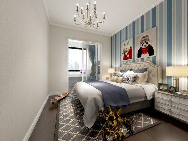 200平星宝明珠欧式风格-温馨之家-星宝明珠小区200平米5室欧式装修案例