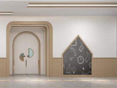 2800平钉钉学府现代风格-亲近自然的幼儿空间