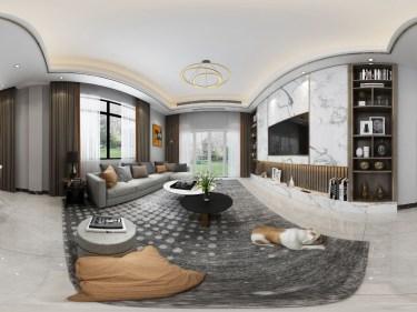 190平凤凰城现代风格-黑白灰的搭配,缔造简单美好生活