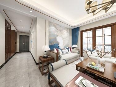 135平东城天樾新中式风格